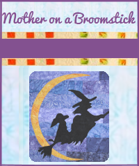 Mother on a Broomstick Quilt Design