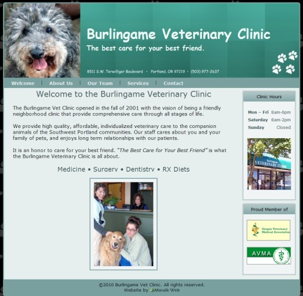 Burlingame Vet Clinic