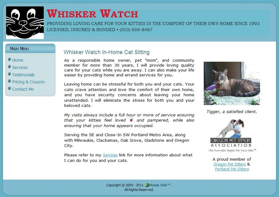 whisker watch