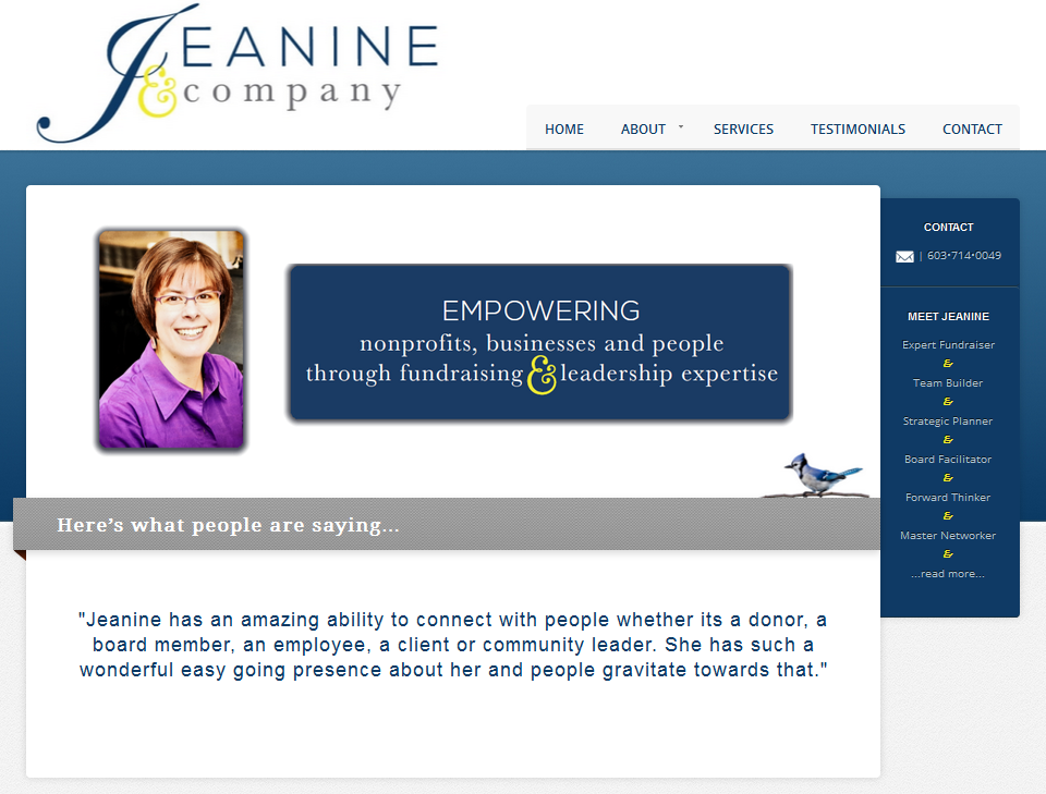 Jeanine and Company Screen shot