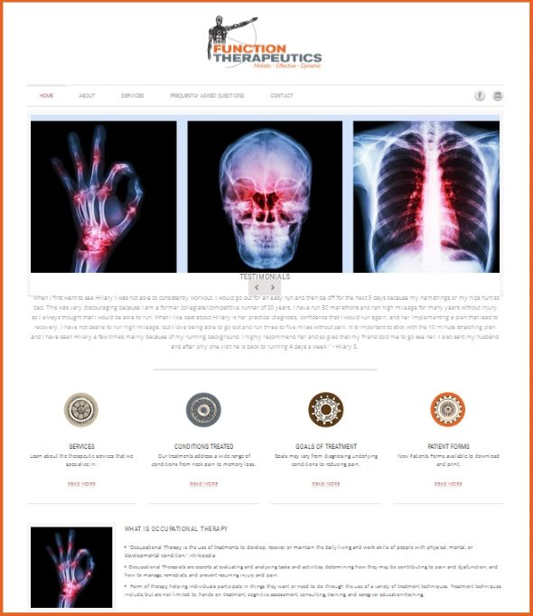 Function Therapeutics Website