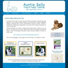 Aunt Sally Dog and Puppy Training