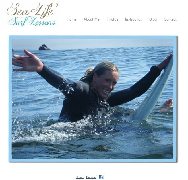 sea life surf lessons
