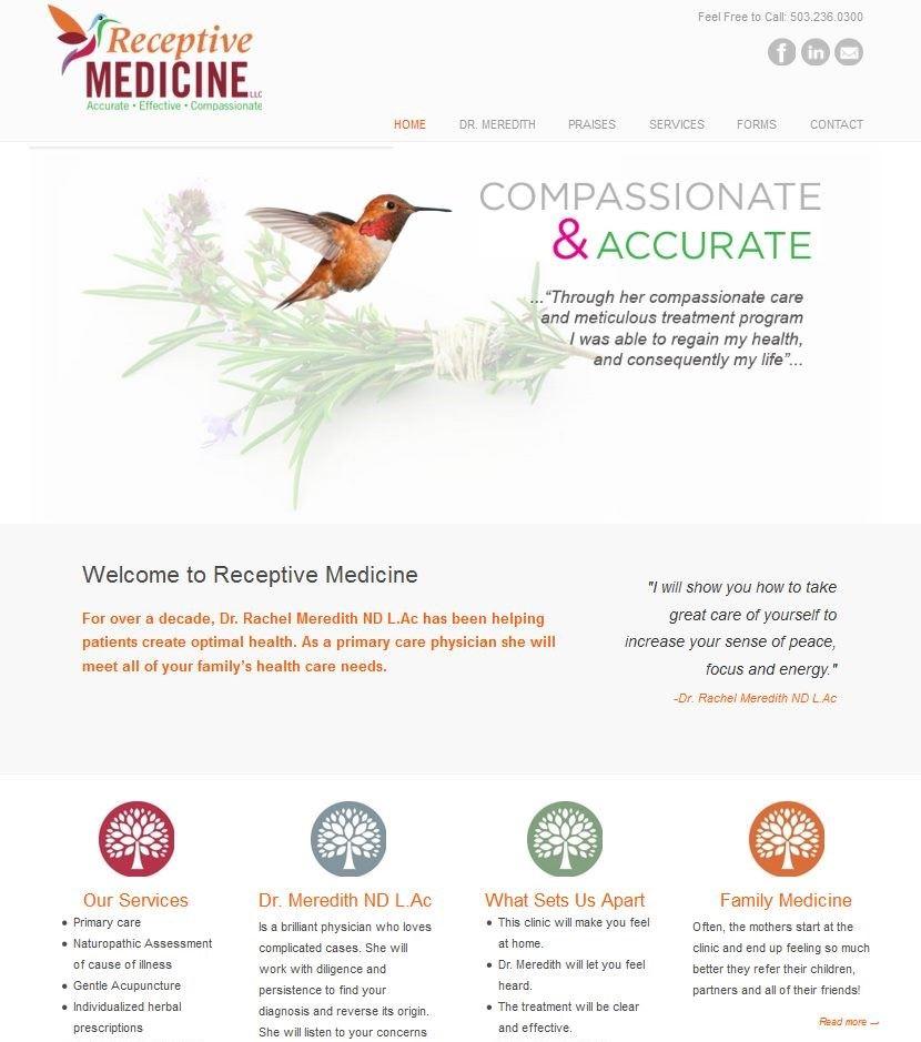 Receptive Medicine