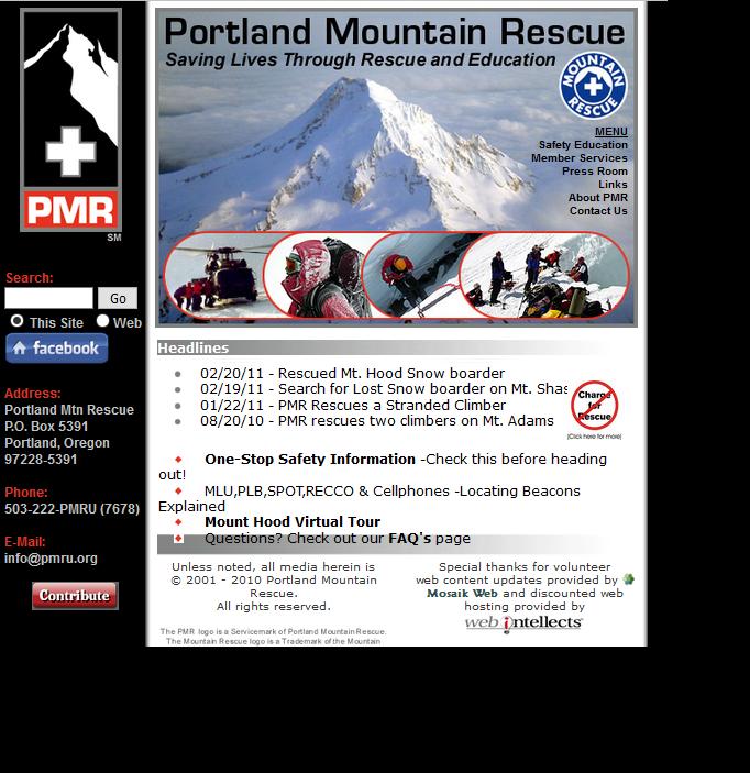 PMR OriginalWebsiteScreenShot